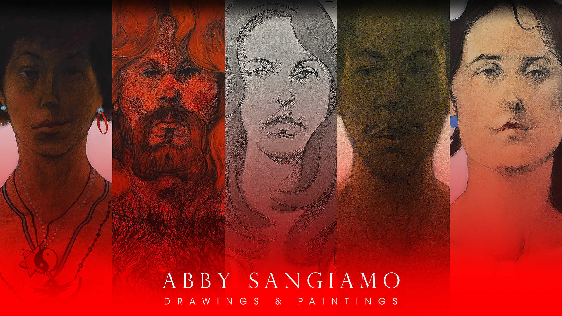 Abby Sangiamo, Drawings & Paintings hero image.